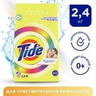 Порошок стиральный «Tide» автомат, для чувствительной кожи, 2.4 кг