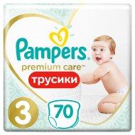 Трусики-подгузники «Pampers» Premium Care Jumbo Midi, 6-11 кг, 70 шт.