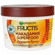 Маска для волос «Garnier Fructis» макадамия, 390 мл.