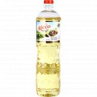 Подсолнечное масло «Mr.Ricco» с экстрактом черного чеснока, 1 л.