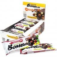 Батончик неглазированный «Bombbar» шоколад-фундук, 60 г.