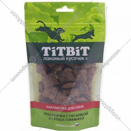 Подушечки для собак с посыпкой «TiTBiT. Золотая коллекция» 80 г.