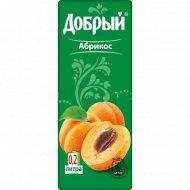 Нектар «Добрый» с мякотью, абрикос 200 мл.