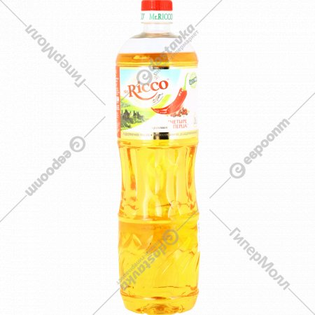 Подсолнечное масло «Mr.Ricco» четыре перца, 1 л.