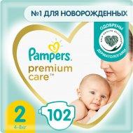 Подгузники «Pampers» Premium Care, размер 2, 4-8 кг, 102 шт.