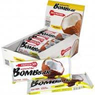 Батончик неглазированный «Bombbar» Coconut, 60 г.