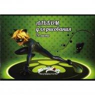 Альбом для рисования «Ladybug» LВ-AA-24, 24 листа.