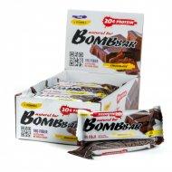 Батончик неглазированный «Bombbar» двойной шоколад, 60 г