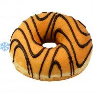 Пончик «Donut Jazz» с начинкой со вкусом клубники, 55 г.