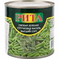 Фассоль стручковая «Rita» зеленая консервированная, 400 г.