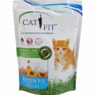 Корм сухой «Cat Fit» для котят, 400 г.