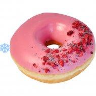 Пончик «Royal Donut» с малиново-сырной начинкой, 65 г.