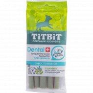 Снек для щенков мелких пород «TiTBiT Дентал+» с телятиной, 30 г