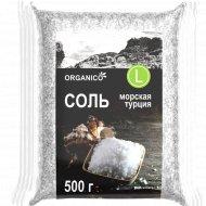Соль морская пищевая «Organico» крупная, 500 г.