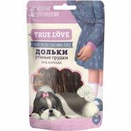 Лакомства для собак дольки «Green Qzin» утиные грудки, 50 г.