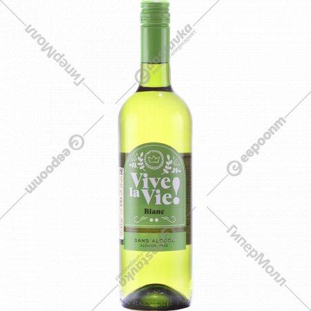 Вино виноградное «Vive La Vie Pinot Noir» белое, 0.75л.