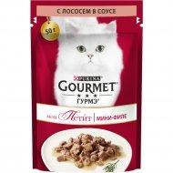 Корм для кошек «Gourmet» Mon Petit с лососем, 50 г.