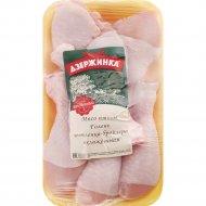 Голень цыплёнка-бройлера охлаждённое 1 кг., фасовка 0.9-1.1 кг