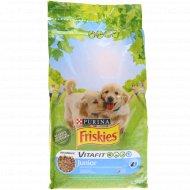 Корм для щенков «Friskies» Vitafit, курица-молоко-овощи, 1.5 кг.