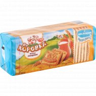 Печенье сахарное «Коровка» с молоком, 375 г