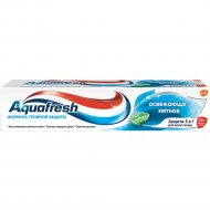 Зубная паста «Aquafresh» тройная защита, освежающе-мятная, 100 мл.