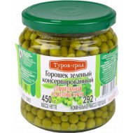 Горошек зеленый консервированный