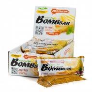 Батончик неглазированный «Bombbar» Lemon cake, 60 г.