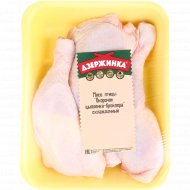 Окорочок цыплёнка-бройлера охлаждённый, 1 кг., фасовка 0.7-1 кг