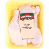 Окорочок цыплёнка-бройлера охлаждённый, 1 кг., фасовка 0.625-1.3 кг