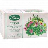Травяной чайный напиток «Bifix» 7 трав, 20 пакетиков х 2 г.