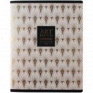 Тетрадь «Арт-Деко» A5, клетка, 96 листов.