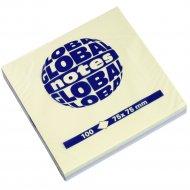 Бумага для заметок «Global Notes» неон, 75х75 мм, 100 листов.