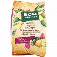 Конфеты «Eco botanica» с экстрактом имбтря и витаминами, 200 г