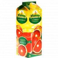 Напиток из красного апельсина «Pfanner» 2 л.