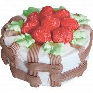 Торт «Клубничное лукошко» 0,9 кг.
