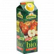 Сок яблочный «Pfanner» BIO, 1 л.