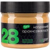 Натуральная арахисовая паста «Tatis 28» 300 г