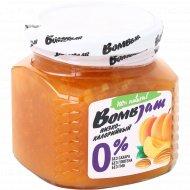 Джем низкокалорийный «BombJam» абрикос-миндаль, 250 г.