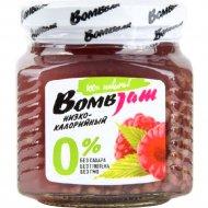 Джем низкокалорийный «BombJam» малина, 250 г.