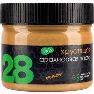 Натуральная хрустящая арахисовая паста «Tatis 28» 300 г