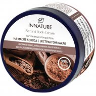 Крем для тела «Innature» на масле кокоса с экстрактом какао, 250 мл