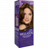 Краска для волос «Wellaton» молочный шоколад, 6/73.