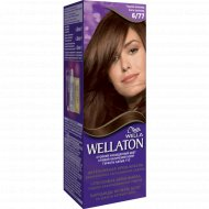 Краска для волос «Wellaton» горький шоколад, 6/77.