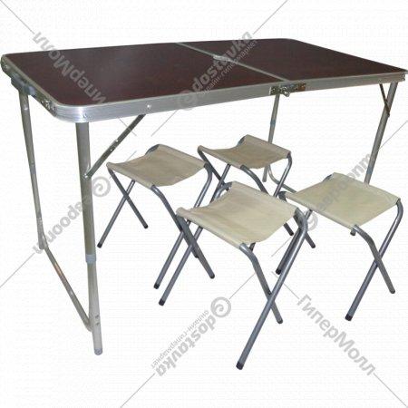 Складной стол и стулья, SJ-8812-4.