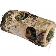 Деревянный туннель «Vitapol» с сеном для грызунов малый, 10 см.
