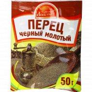 Перец черный «Русский аппетит» молотый, 50 г.