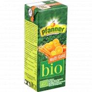 Напиток Gold BIO «Pfanner» мультифруктовый, 200 мл.