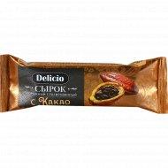 Сырок творожный «Delicio» с какао, 20%, 40г.