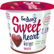 Йогурт «Sweet heart» вишня, 2.5%, 150 г.
