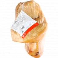 Продукт из свинины «Голяшка домашняя Люкс» копчено-вареный, 1 кг., фасовка 1.9-2.2 кг